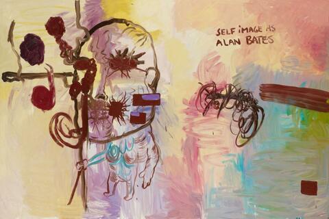 Bjarne Melgaard - Self Image as Alan Bates