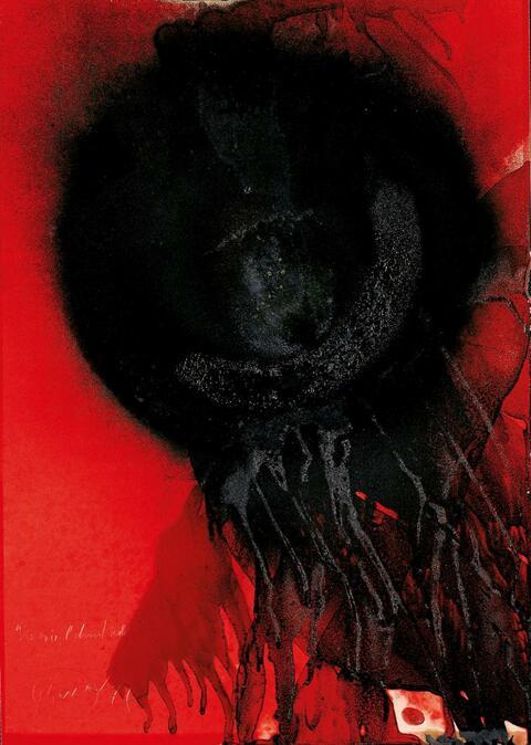 Otto Piene - Es wird dunkel