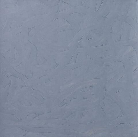 Gerhard Richter - Vermalung (grau)