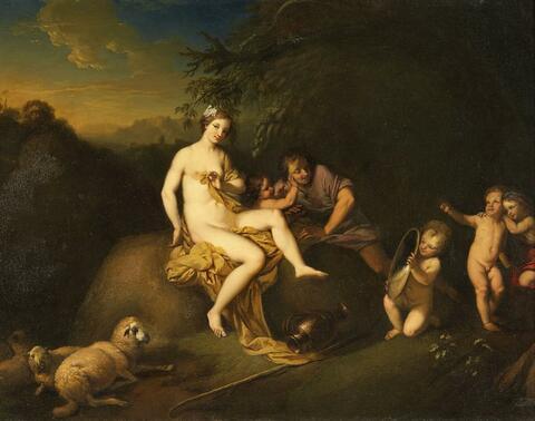 Christian Wilhelm Ernst Dietrich, gen. Dietricy, zugeschrieben - Das Bad der Venus