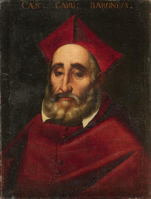 Italienischer Meister des 17. Jahrhunderts - Bildnis des Kardinals Cesare Baroni