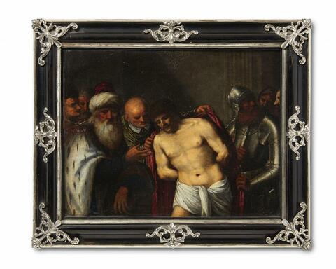 Italienischer Meister des 17. Jahrhunderts - Christus vor Kaiphas