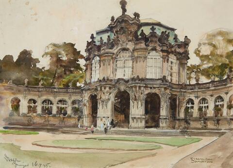 Edward Harrison Compton - The Dresden Zwinger