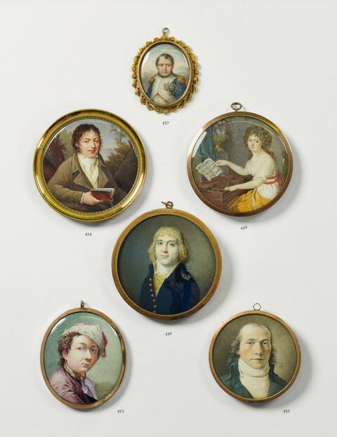 Porträt Napoleon als General -