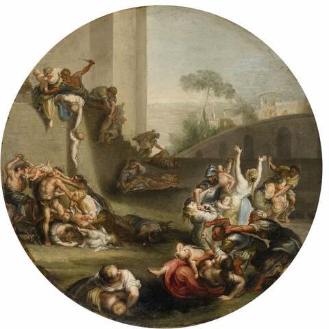 Simon de Vos - Der Kindermord in Bethlehem