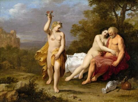 Cornelis van Poelenburgh - Lot und seine Töchter