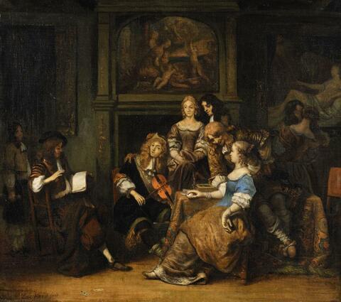 Gerbrand van den Eeckhout - Companions Making Music