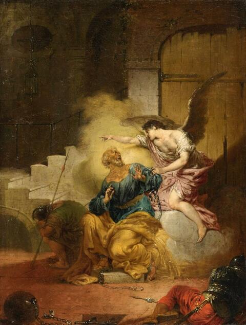 Januarius Zick - The Liberation of Saint Peter