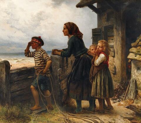 Carl Wilhelm Hübner - Die Erwartung