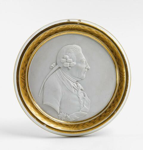 Reliefporträt Friedrichs II. -