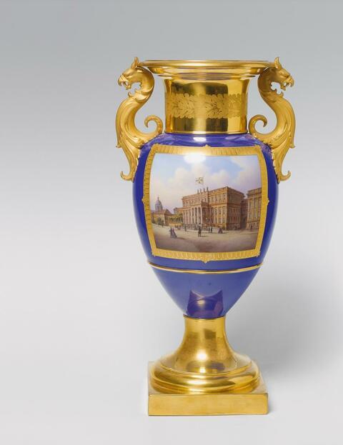 Vase mit Kronprinzenpalais -
