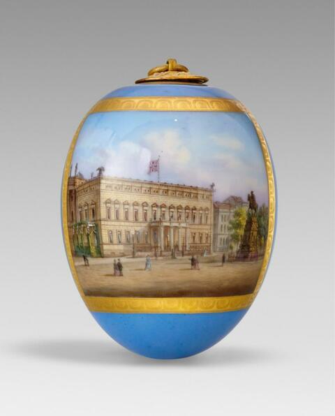Porzellanei mit dem Königlichen Palais -