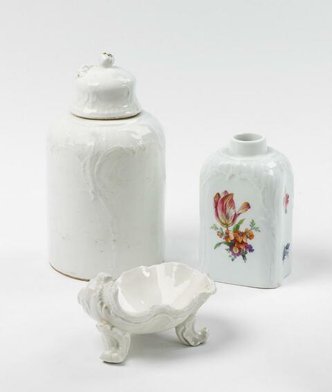 Zwei Teedosen -