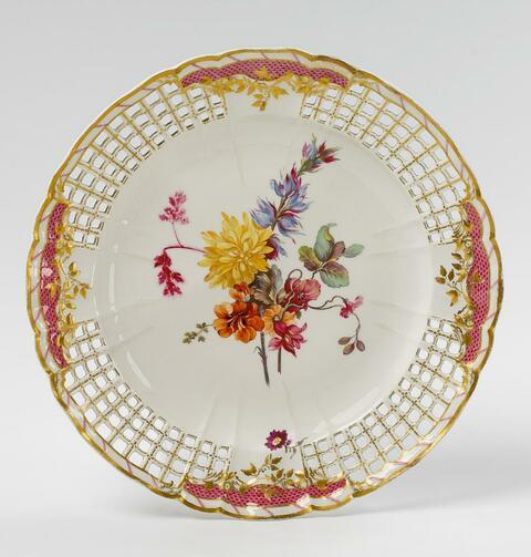 Dessertteller für Friedrich II. -