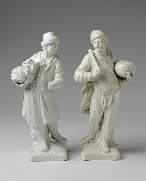 Zwei Figuren für Katharina II. -