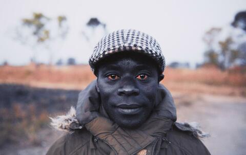 """Jeff Widener - """"Red Eyes"""", Cassinga, Angola"""