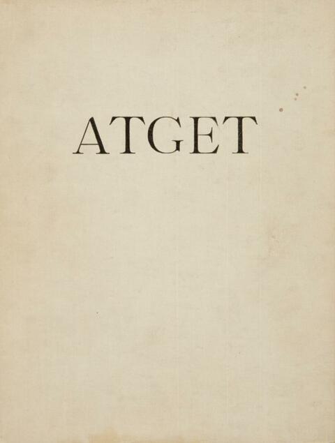 Jean Eugène Auguste Atget - Lichtbilder