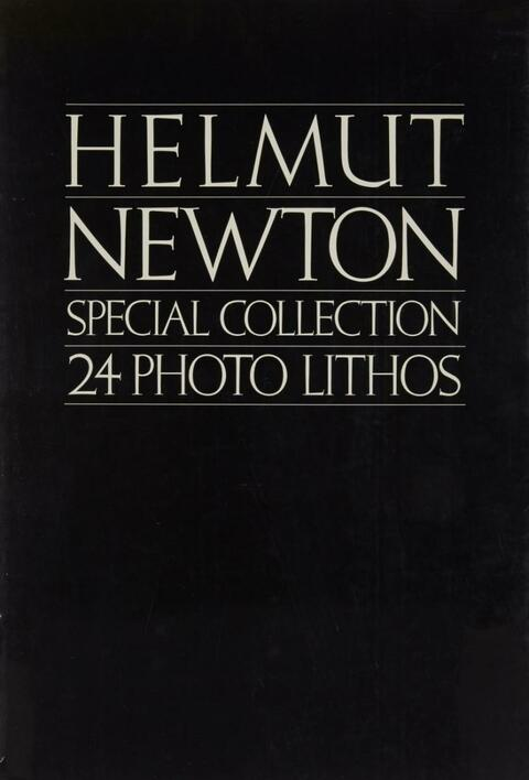 Helmut Newton - Special Collection. 24 Photo Lithos
