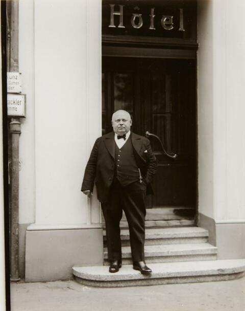 August Sander - Hotelier