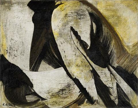 Karl Otto Götz - Untitled (6.12.1955)