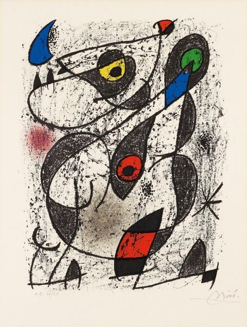 Joan Miró - Miró à l'Encre