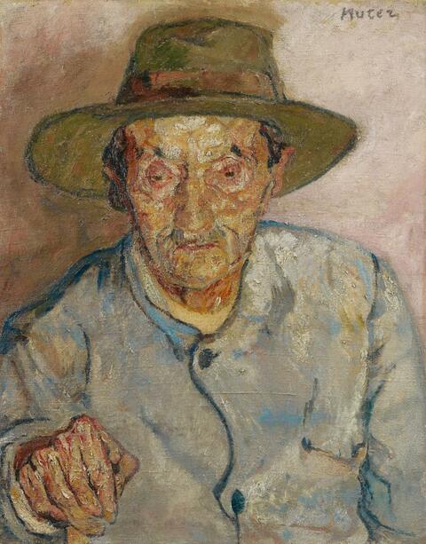 Mela Muter (Maria Melania Mutermilch) - Mann mit Hut