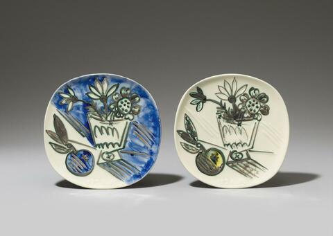Pablo Picasso - Bouquet à la pomme