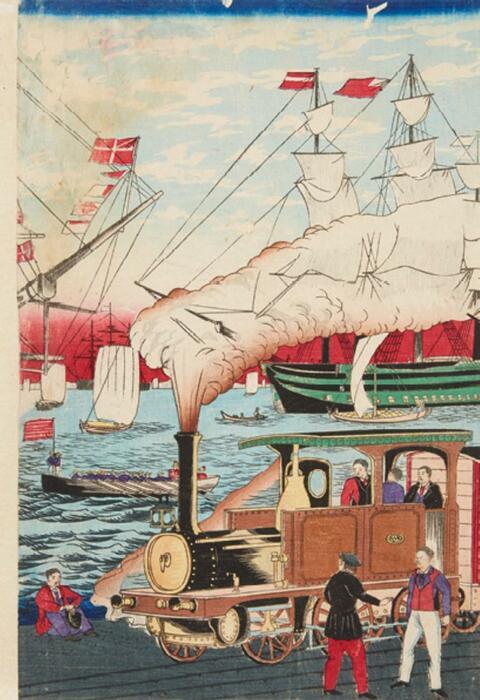 Utagawa Hiroshige III Utagawa Sadahide -