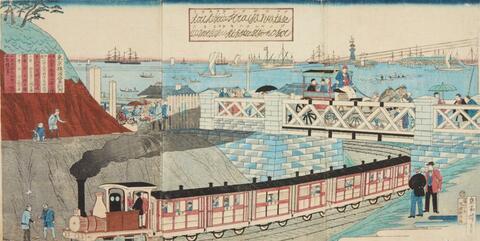 Utagawa Hiroshige III other artists - Utagawa Hiroshige III (1842-1894) and other artists of the 19th century
