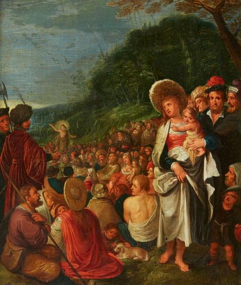 Frans Francken the Younger, follower of - Saint John the Baptist Preaching