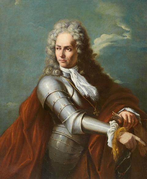 Italienischer Meister des 18. Jahrhunderts - Porträt eines Feldherrn