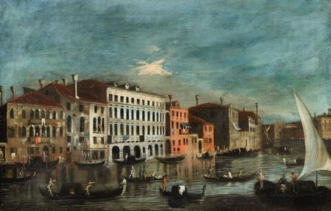 Italienischer Meister des 18. Jahrhunderts - Venezianische Ansicht