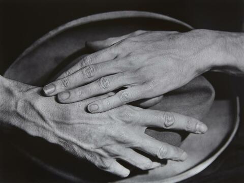 Berenice Abbott - Jean Cocteau's Hands