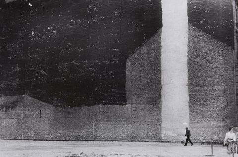 "Will McBride - Das ""Kafka""-Brandmauer-Bild, Berlin"