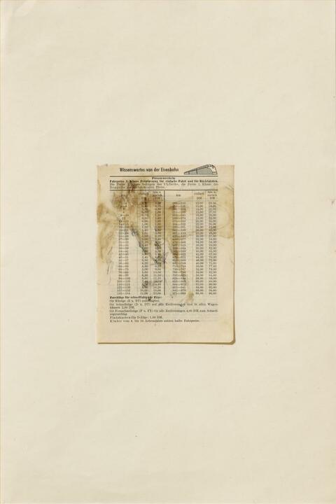 Joseph Beuys - Elch / Hasenblut