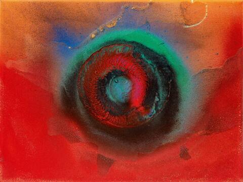Otto Piene - 360° Rainbow