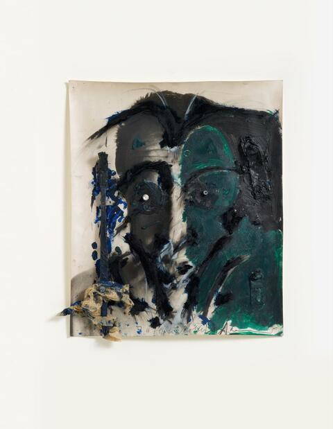 Arnulf Rainer Dieter Roth - Untitled