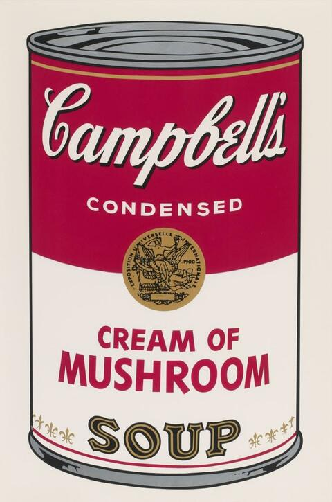 Andy Warhol - Campbell's Soup I