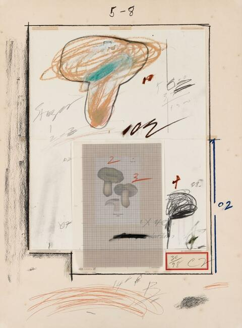 Cy Twombly - Natural History Part I (No.III)