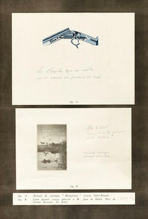 Marcel Broodthaers - Comment va la memoire et la fontaine