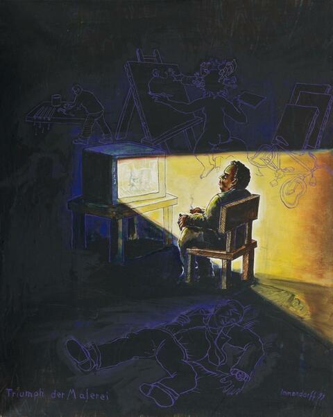Jörg Immendorff - Triumph der Malerei