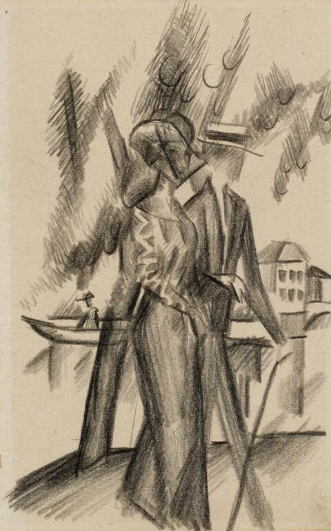 August Macke - An der Aare