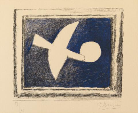 Georges Braque - Astre et oiseau I