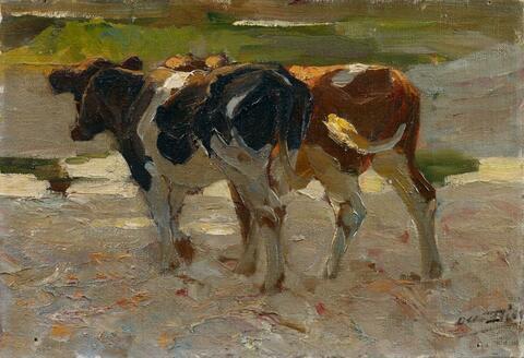 Otto Dill - Zwei Kühe