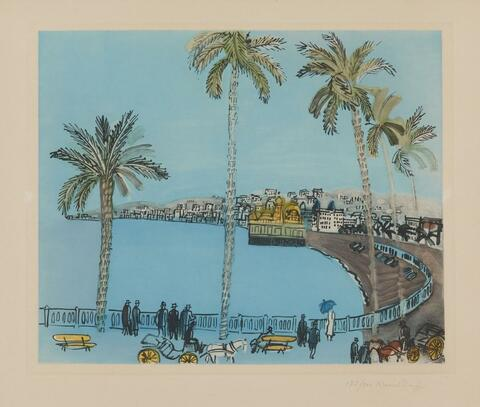 Nach Raoul Dufy - La Baie des Anges à Nice