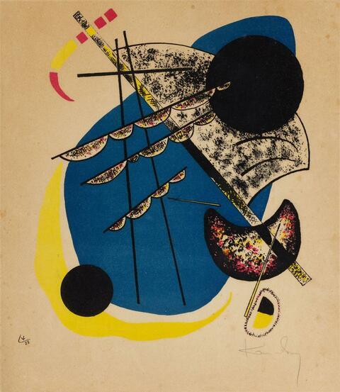 Wassily Kandinsky - Kleine Welten II