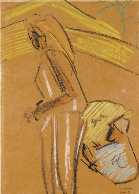 Ernst Ludwig Kirchner - Araberin