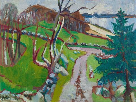 Bruno Krauskopf - Landschaft