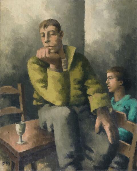 Frans Masereel - Matelot accoudé
