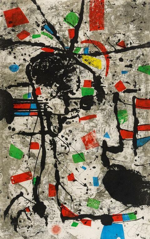 Joan Miró - Els Gossos VIII